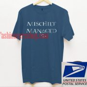Mischief Managed Unisex adult T shirt