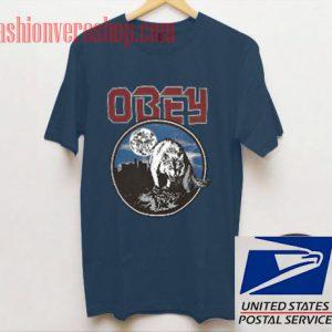 Obey Wolfen Emerald Unisex adult T shirt