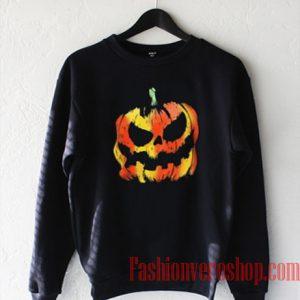 Pumpkin Halloween Sweatshirt