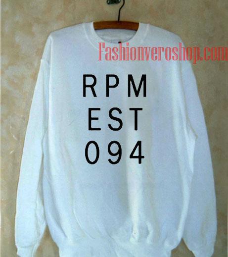 RPM EST 094 Sweatshirt