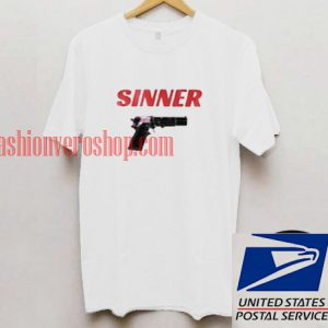 Sinner Unisex adult T shirt