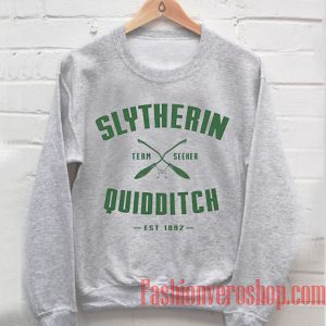 Slytherin Quidditch Harry Potter Sweatshirt