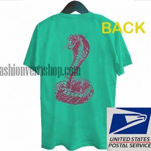 Snake Back Unisex adult T shirt