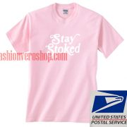 Stay Stoked Unisex adult T shirt