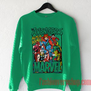 The Avengers Marvel Sweatshirt