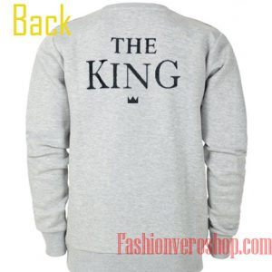 The King Couple Sweatshirt