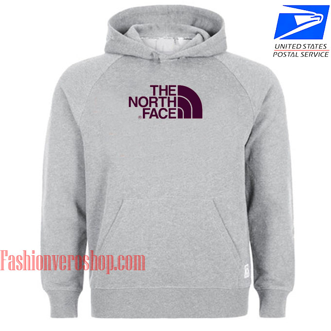 The North Face Grey HOODIE - Unisex Adult Clothing