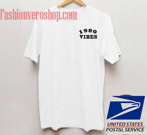 1980 Vibes Unisex adult T shirt