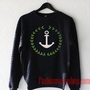 Anchor And Wreath Sweatshirt