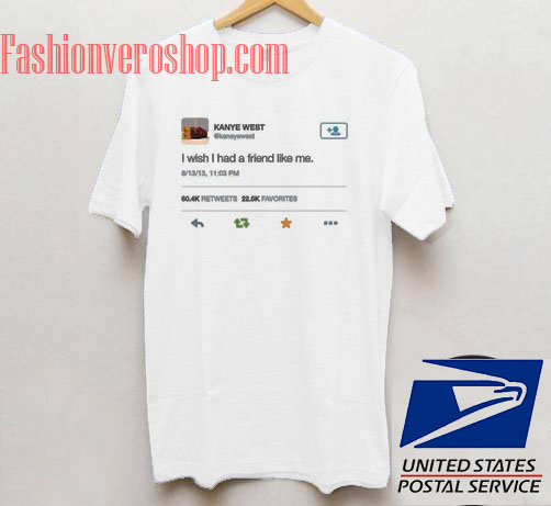 Kanye West Tweet Unisex adult T shirt
