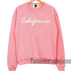 Pink California Sweatshirt