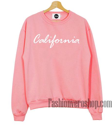 Pink California Sweatshirt