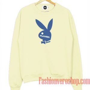 Playgirl Light Yellow Sweatshirt