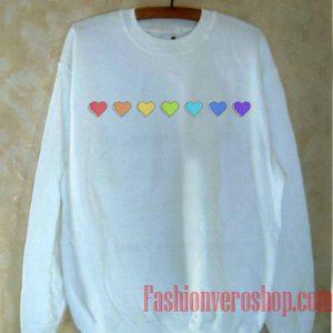 Pride Hearts Sweatshirt