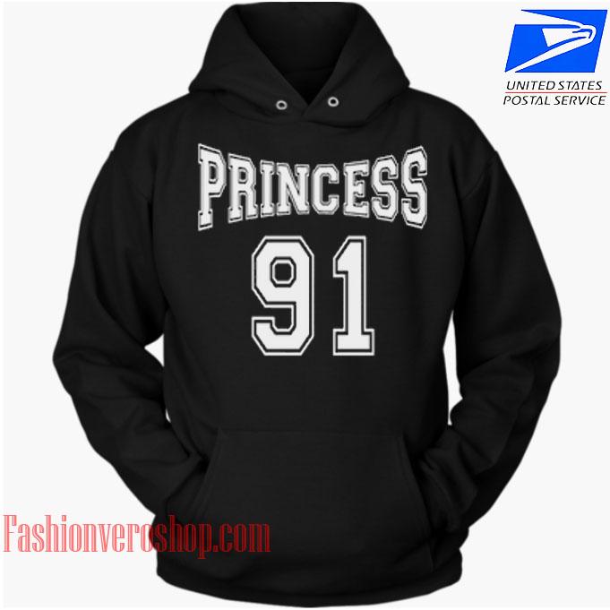 Princess 91 HOODIE - Unisex Adult Clothing