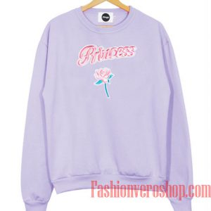 Princess Flower Sweatshirt