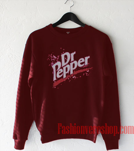 Retro Thermal Dr Pepper Sweatshirt