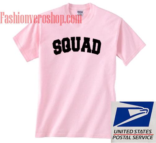 SQUAD Unisex adult T shirt