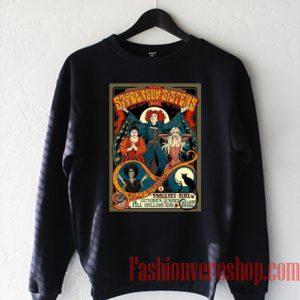 Sanderson Sisters Tour Poster Sweatshirt