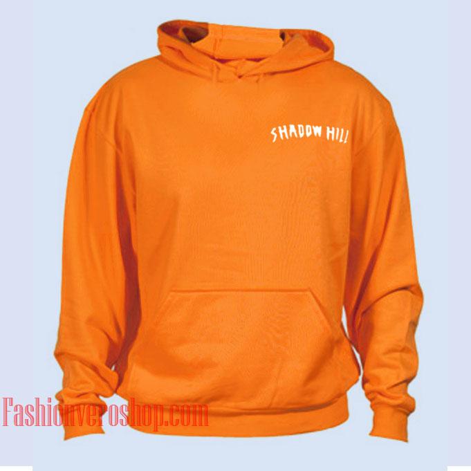 Shadow Hill Orange HOODIE Unisex Adult Clothing