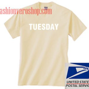 Tuesday Unisex adult T shirt