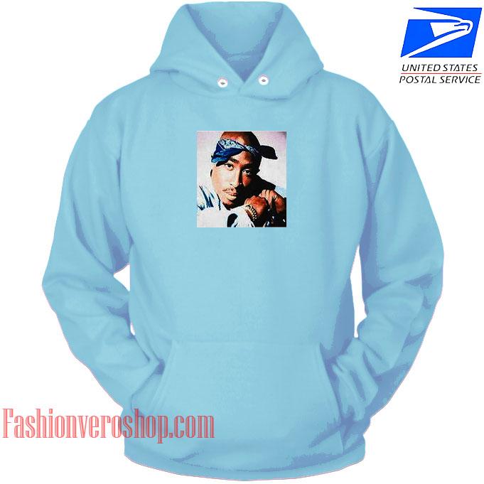 Tupac 4 Life HOODIE - Unisex Adult Clothing