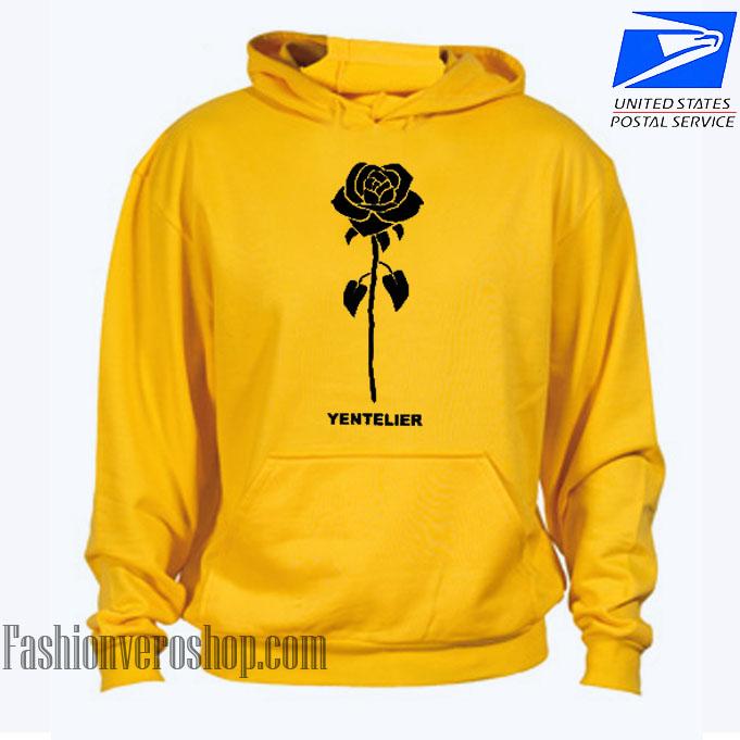 Yentelier Rose HOODIE - Unisex Adult Clothing