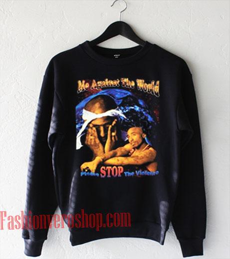 2 Pac All Eyes On Me Sweatshirt