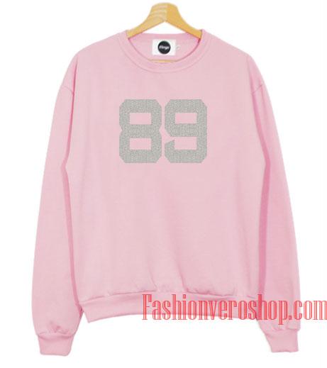 89 Number Sweatshirt