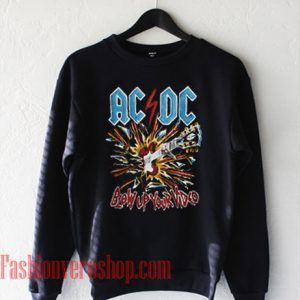 ACDC Blow Up Your Video Sweatshirt