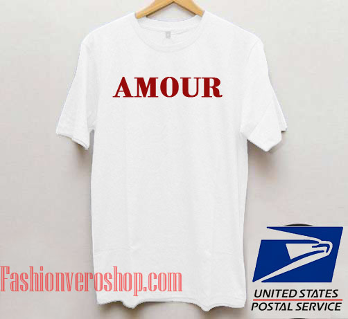 Amour Unisex adult T shirt