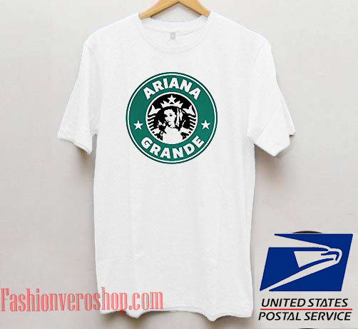 d926e2d2 Ariana Grande Starbucks Logo Unisex adult T shirt
