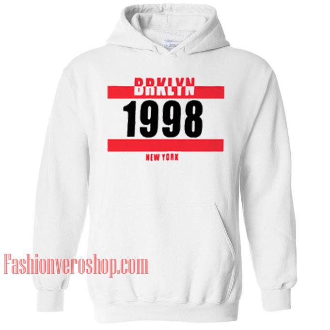 Brklyn 1998 New York HOODIE - Unisex Adult Clothing