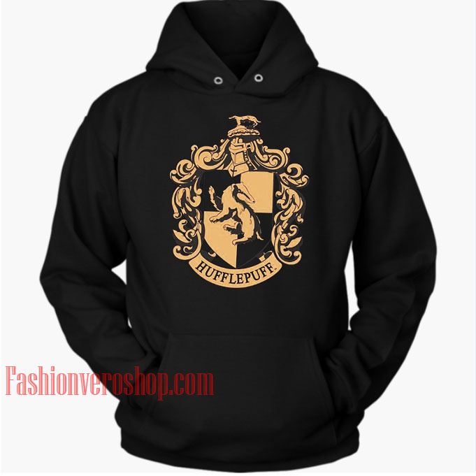 Hufflepuff Black HOODIE Unisex Adult Clothing