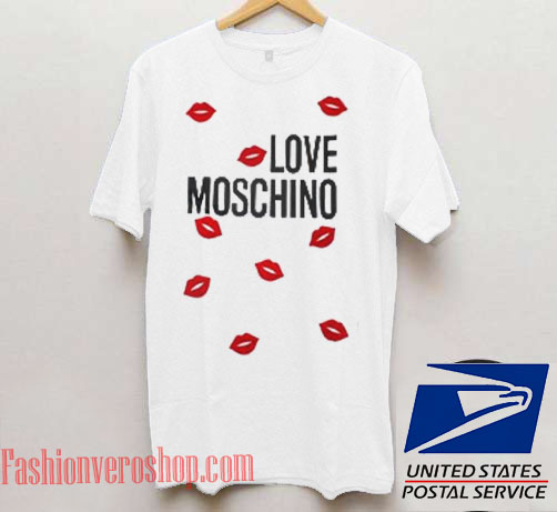 Love Moschino Unisex adult T shirt
