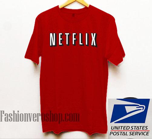 Netflix Unisex adult T shirt