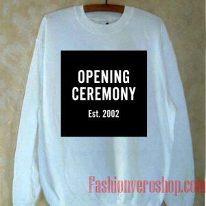 Opening Ceremony Est 2002 Sweatshirt