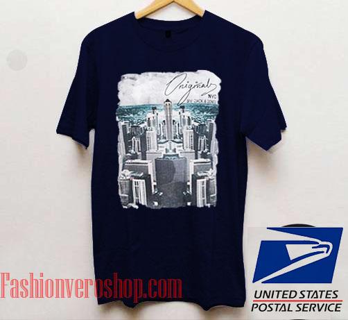 Original NYC Building Unisex adult T shirt 5f950d34b25