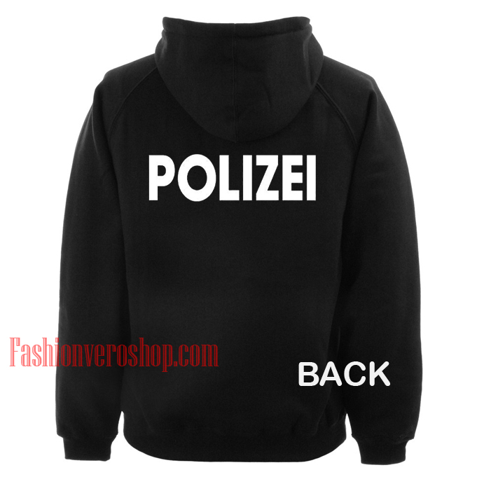 Polizei HOODIE - Unisex Adult Clothing