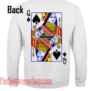 Queen Card Sweatshirt