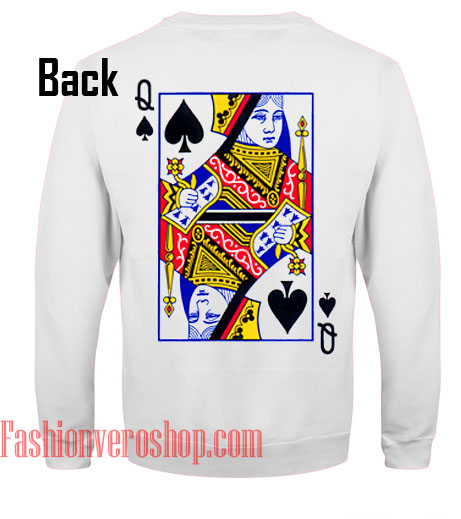 Queen Card Sweatshirt
