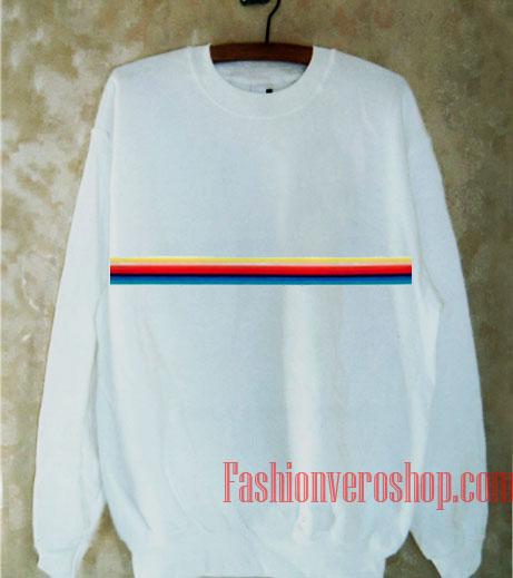 Rainbow Color Sweatshirt