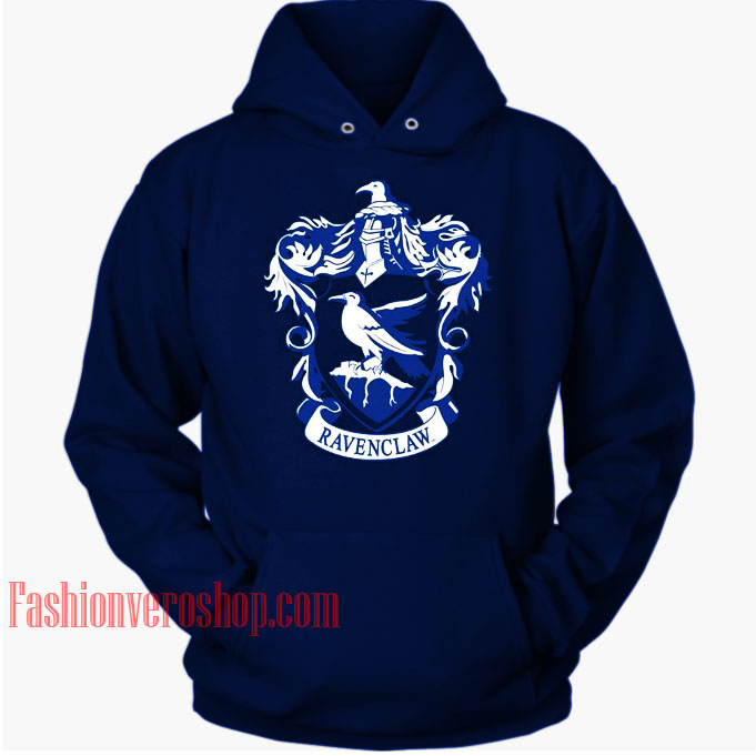 Ravenclaw Blue HOODIE Unisex Adult Clothing
