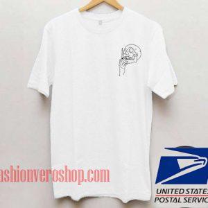 Skull Cigarette Unisex adult T shirt