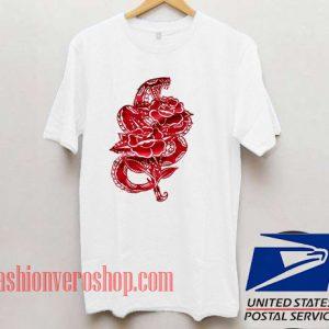 Snake Flower Unisex adult T shirt