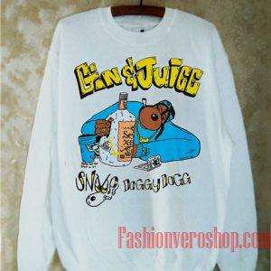 Snoop Dogg Gin and Juice Washed Sweatshirt