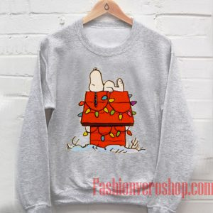 Snoopy Sleeping Sweatshirt