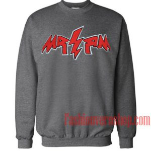 Thug Life MR RM Dark Grey Sweatshirt