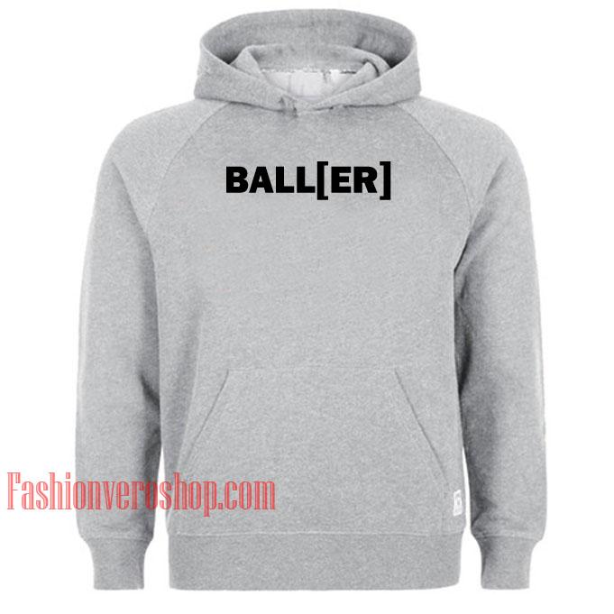 Baller HOODIE - Unisex Adult Clothing