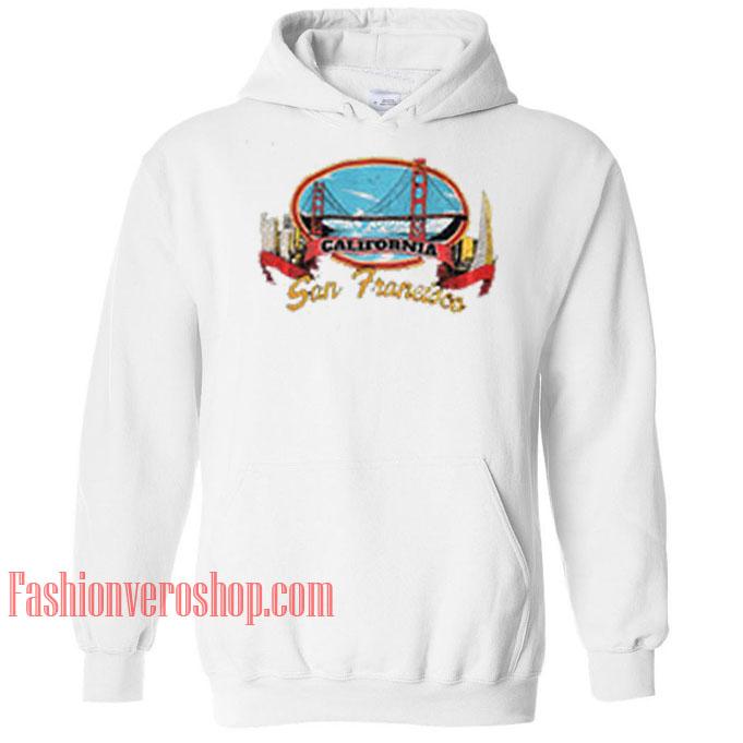 California San Francisco HOODIE - Unisex Adult Clothing